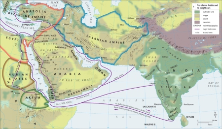 A GLIMPSE OF PRE-ISLAMIC ARABIA